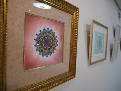 紋様色彩画 個展 2014