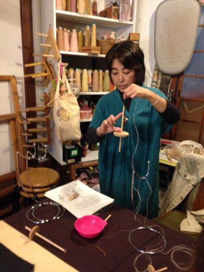 佐々木真紀 麻糸産み