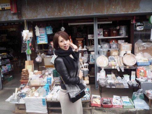 南城久美子さん 神社参拝ツアー 石切