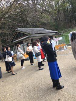 南城久美子さん 神社参拝ツアー 枚岡神社