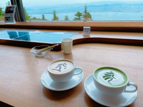比叡山 カフェ 梵字 お茶