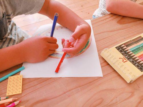 学童 まあはす ぬりえ 紋様色彩画