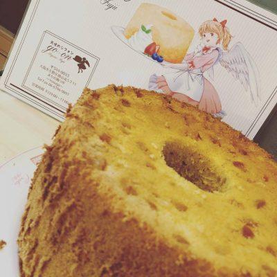 シフォンケーキ goon 個展