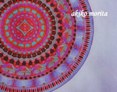 紋様色彩画 サークルダンス