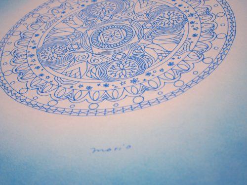 音霊 紋様色彩画