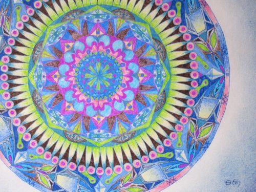 イデア 紋様色彩画