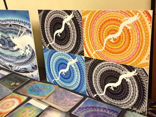 紋様色彩画 デザインボード 個展