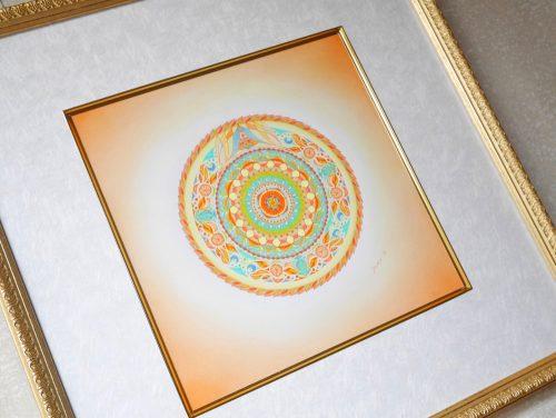 紋様色彩画 豊穣祭