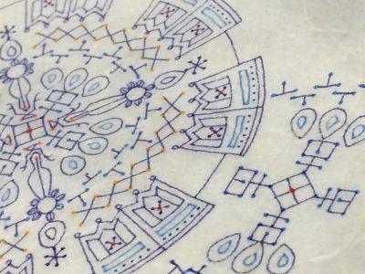 紋様色彩画 十種の宇宙