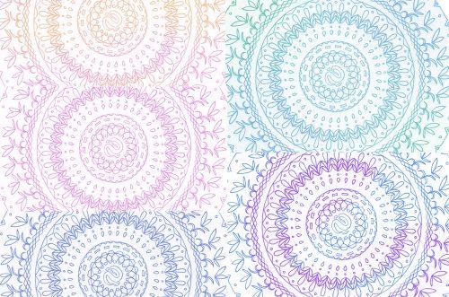 ぬりえ2無料フリーダウンロード版子供大人まで紋様色彩画